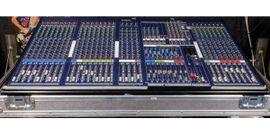 PA, Licht, Boxen - Mischpult Yamaha IM8-24 Multicore Transportcase