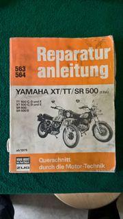 Reparaturanleitung Yamaha XT TT SR