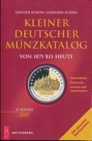 Kleiner Deutscher Münzkatalog von 1871