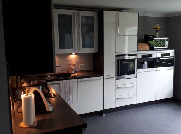 Küche Alno Blanco Miele Siemens