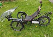 Fahrrad Elekro Liegerad Scorpion