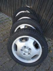 4 Reifen auf Alufelgen DB