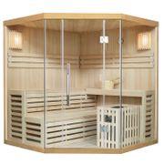 Traditionelle Saunakabine Finnische Sauna 180x180