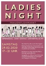 Ladies-Night - Flohmarkt für Frauen am
