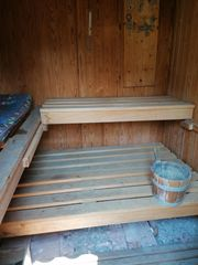 Sauna zum upcyclen gesucht gegen