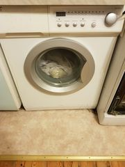 Waschmaschine funktionsfähig