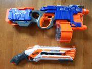 Nerf Hyperfire und Roughcut 2X2