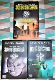 Taschenbücher John Sinclair Jason Dark