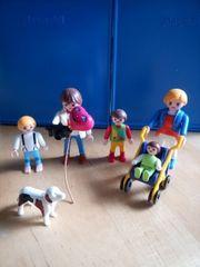 Playmobil Familie mit Hund