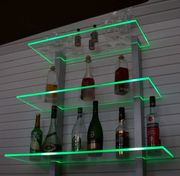 Bar Regal LED beleuchtet ideal