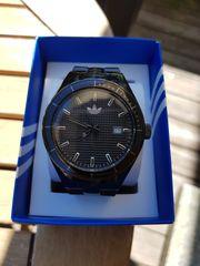 Adidas Armbanduhr schwarz