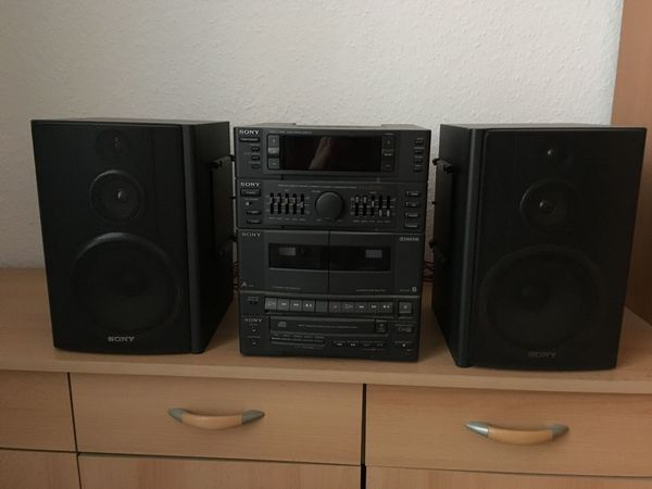 SONY HCD-H150 Compact Disk Deck