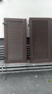 20 Stück Holz-Fensterladen