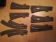 Trix sehr großes C-Gleiskonvolut 7 Weichen