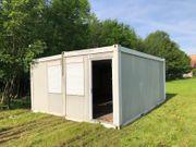 Doppelcontainer 20ft Transport kostenlos dazu