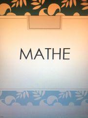 Biete Mathe Nachhilfe in Darmstadt