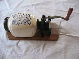 Kaffee-, Espressomaschinen - Wandkaffeemühle Porzellan Handkaffeemühle Mühle für
