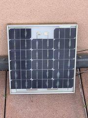 Sonnenkollektor Showa 12V 12Wp