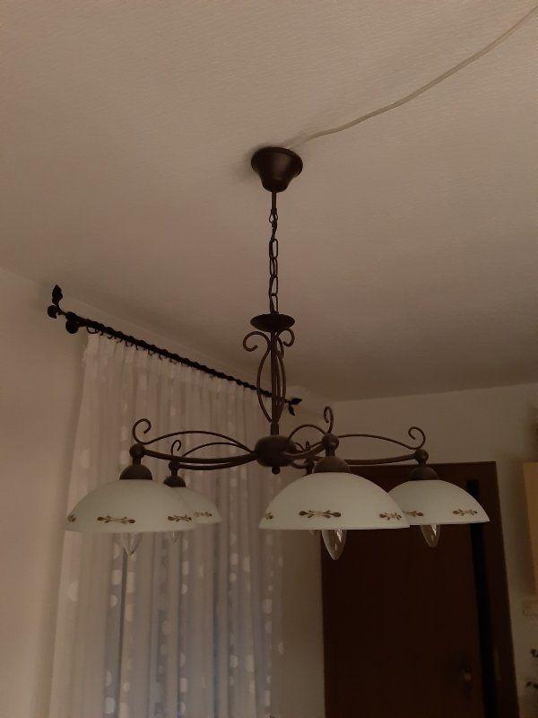 Lampe Küche Esszimmer hängend Glas