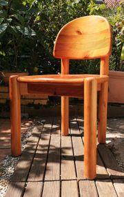 4 Stühle Naturholz