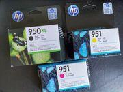 orig HP Tintenpatronen 950 XL