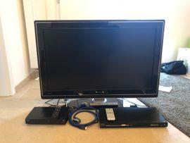 Fernseher und DVD-Player