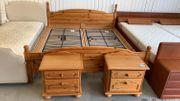 Bett 2 Nachttische - 180cm - LD16042