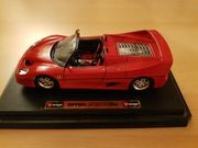 Bburago Ferrarin F50 1995 rot