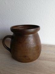 ALTES öterr Keramik Gefäß GARTENDEKO