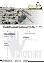 Taktisches Verhalten und Selbstschutz