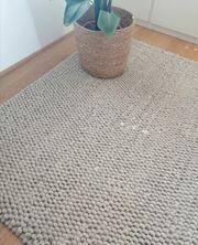 Teppich hellgrau