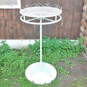 Stehtisch Gartentisch mit drehbarer Stellfläche