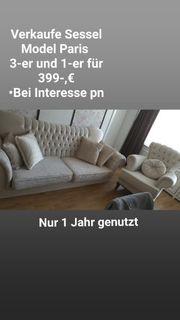verkaufe sessel und couch model