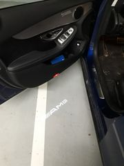 Mercedes Benz LED Ausstiegs Türlichter