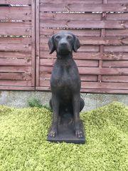 Garten Figur aus Beton Hund