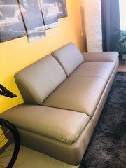 Sofa Zweisitzer Kunstleder gleiches Sofa