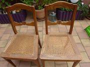 2 antike vintage Stühle mit
