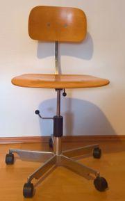 Schreibtischstuhl Werkstattstuhl Bauhaus Art Déco