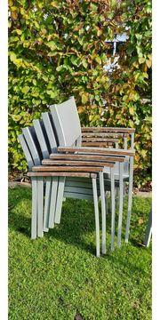 Stapelbare Gartenstühle