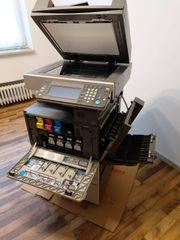 BÜROAUFLÖSUNG Drucker Kopierer Büroausstattung Schreibtisch