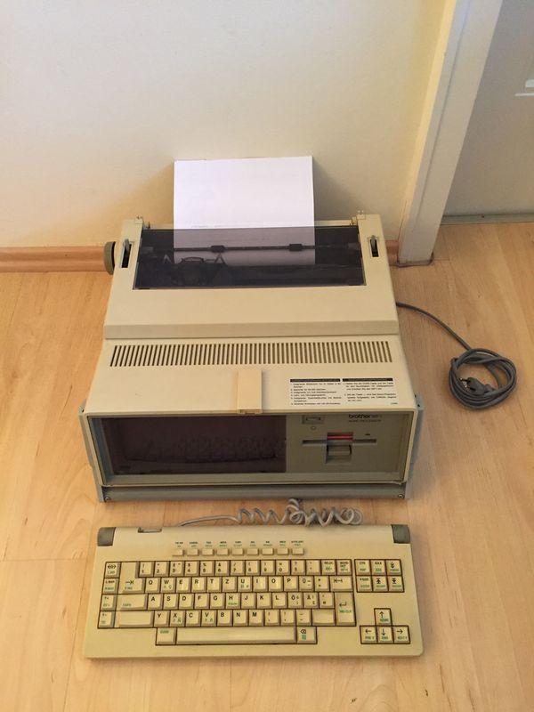 Brother WP-1 Kult - Schreibcomputer aus