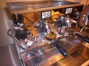 1xOrignal Alu Gastro Espressomaschine Siebträger