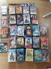 Schallplatten DVD VHS