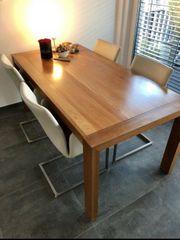 Massivholz Esstisch In Stuttgart Haushalt Möbel Gebraucht Und