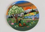 Seltmann Sammelteller Erntemotive Wandteller Zierteller