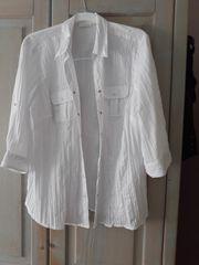 Weiße bluse gr 46