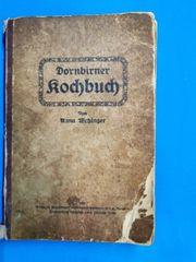 Altes Dornbirner Kochbuch 1921