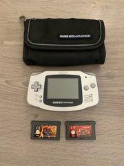 Gameboy Advance mit Tasche und