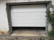 Verkaufe Hörmann Sektionaltor Hellgrau