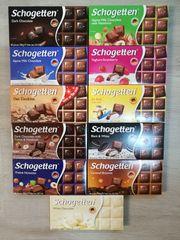 20 x Schogetten Schokolade TAFELN